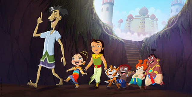 Show your kids an interesting Animated Movie 'Luv Kushh the Serpent King' at Aha